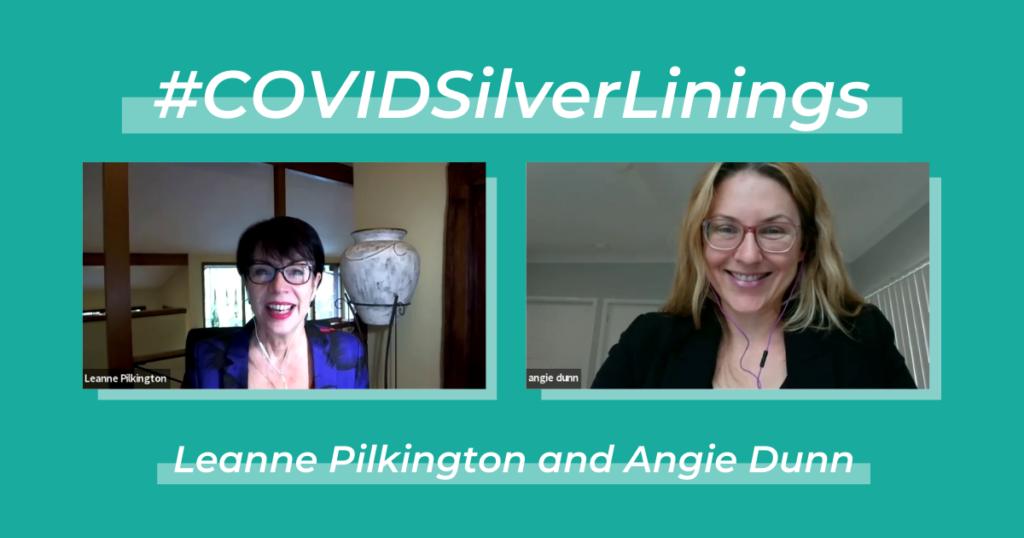 Leanne Pilkington and Angie Dunn