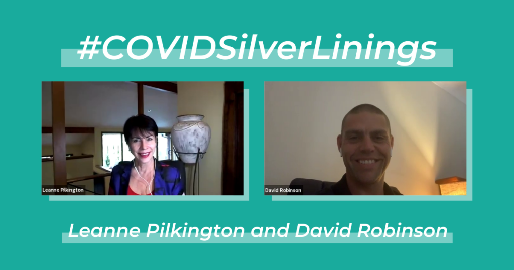 Leanne Pilkington and Dave Robinson