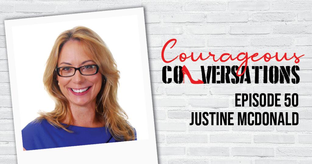 Ep 50 Justine McDonald Thumbnail